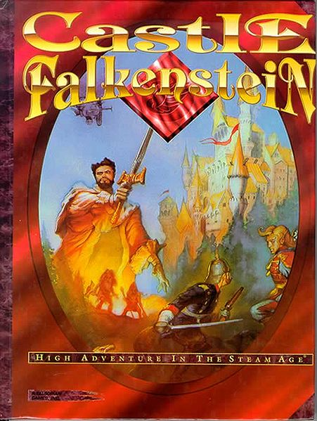 Castle Falkenstein cover